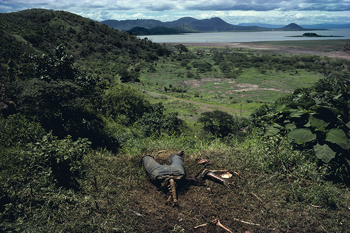 """NICARAGUA. Managua. """"Cuesta del Plomo"""", hillside outside Managua, a well known site of many assassinations carried out by the National Guard."""