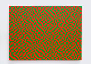 Atkinson Dither, 48% Green by Daniel Temkin