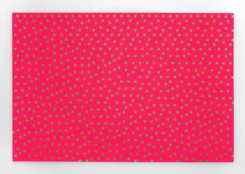 Floyd-Steinberg 12% Green. Acrylic on panel by Daniel Temkin