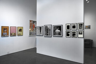 Installation view of We Wear the Mask at Higher Pictures Generation