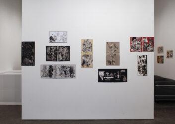 Installation view, Justine Kurland, SCUMB Manifesto