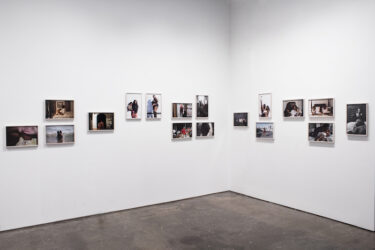 """Installation view of Nona Faustine, """"Mitochondria"""" at Higher Pictures Generation"""