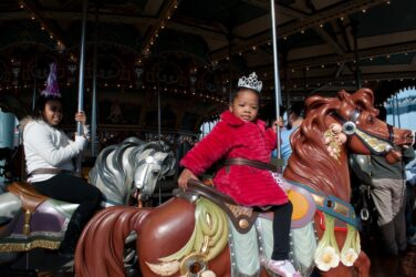 Nona Faustine, Queen of the Carousel, 2011