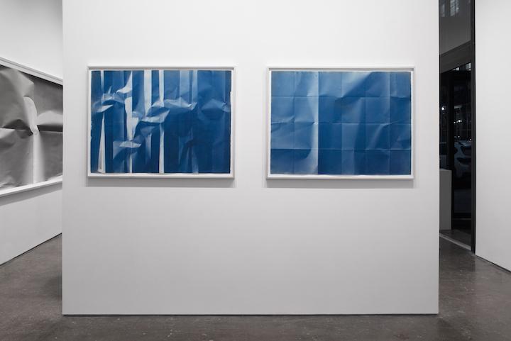 Sheila Pinkel, Pinkelgraphs: The Murals and Cyanotypes, 1974–1982