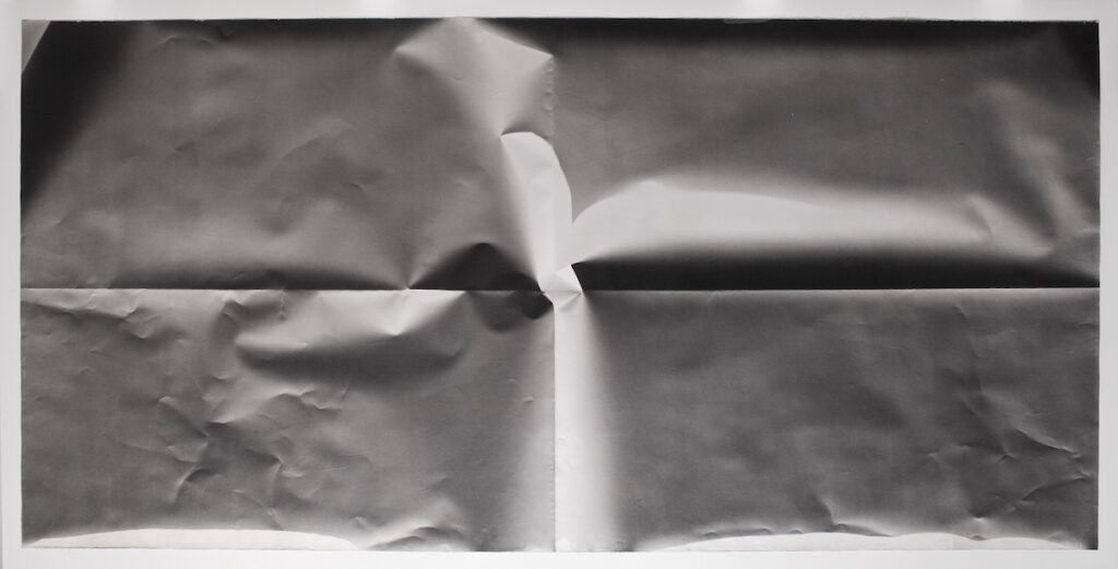 Sheila Pinkel, Folded Paper, c. 1974-1982